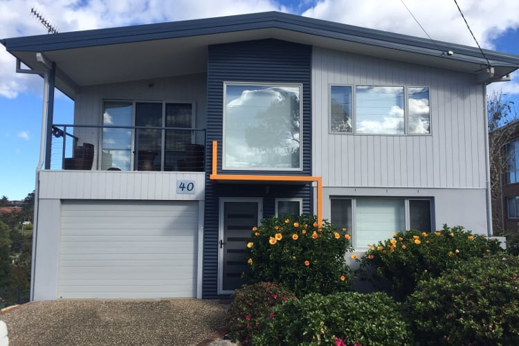 malua bay south coast rennovation residential holiday home house architect bespoke steve andrea architecture addition extension